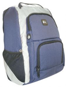 Case Gear: Bac Pac Active 17 inch Rucksack Style Notebook Bag [BLUE/GREY]